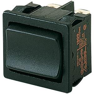 Rocker switch, 2-pin, UM, black MARQUARDT 01809.1302-00