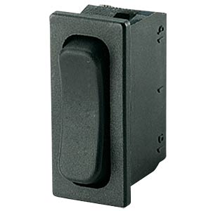 Wippschalter, 1-pol, UM, schwarz MARQUARDT 01838.3402-01
