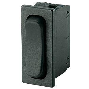 Rocker switch, 1-pin, UM, black MARQUARDT 01838.3402-01