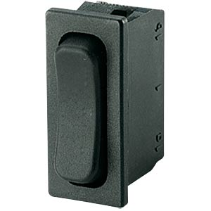 Rocker switch, 1-pin, UM, black MARQUARDT 01838.3502-01