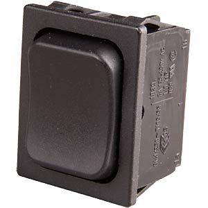 Rocker switch, 2-pin, UM, black MARQUARDT 01839.1402-01