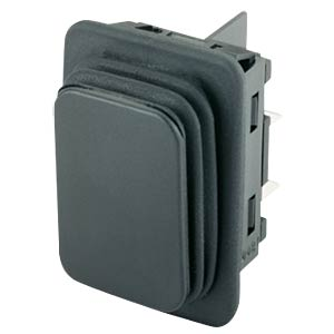 Rocker switch, 2-pin, NO, black MARQUARDT 01932.3413-01