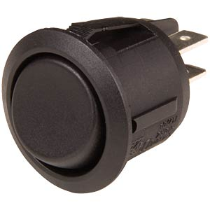 Round rocket switch, 2x ON-OFF-ON SCI-PARTS R13-244D-02-BB-2