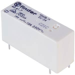 Steck-/Printrelais, 1x UM, 250V/10A, 5V, RM3,2 FINDER 43.41.7.005.2000