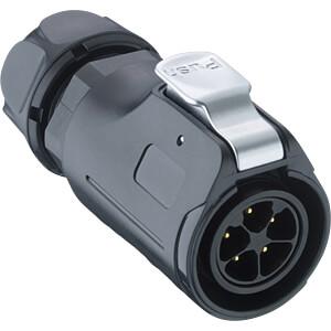 Quicklock-Stecker - Größe 20, 3 pol LUMBERG 0252 03