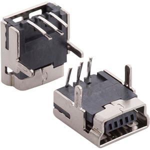 Mini USB-Buchse, gewinkelt RND CONNECT RND 205-00862