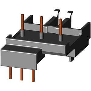 Connection: contactor — RCD for S00 SIEMENS 3RA1921-1D