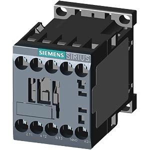 Contactor, S00, 1 x NO, 12 A / 22 A / 5.5 kW / 24 V DC SIEMENS 3RT2017-1BB41