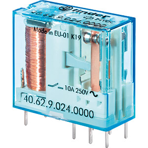 Steck-Printrelais, 2 CO, 10 A, 48 V DC FINDER 40.62.9.048.0000