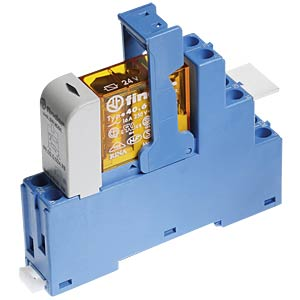 Coupling relay, 2 changeover contact, 8 A, 230 V AC FINDER 48.52.8.230.0060