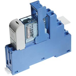Coupling relay, 2 changeover contact, 8 A, 24 V DC FINDER 48.52.9.024.0050