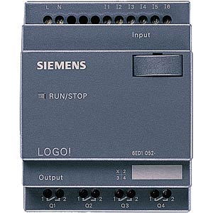 LOGO! compact controller without display, 24 V DC SIEMENS 6ED1052-2CC01-0BA6