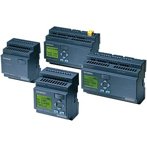LOGO! compact controller with display, 12/24 V DC SIEMENS 6ED1052-1MD00-0BA6