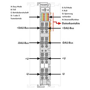 DALI MULTI-MASTER TERMINAL 0 WAGO 753-647
