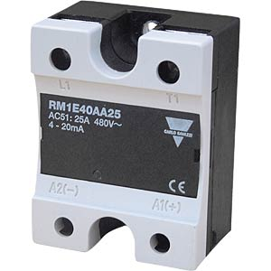 Semiconductor relay, industrial housing, phase control CARLO GAVAZZI RM1E23AA25