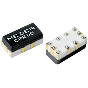 SMD reed relay, 1 closed contact 0.5 A MEDER