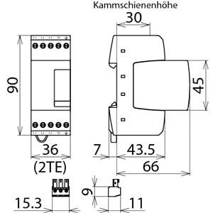 Überspannungsableiter Typ 3 DEHN+SÖHNE 953405