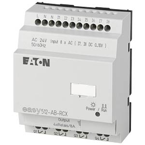 Stuurrelais EASY - 8 DI (2 D/A), 4 RO EATON EASY512-AB-RCX
