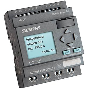 LOGO! Small controller with display 115/240V AC / DC SIEMENS 6ED1052-1FB00-0BA6