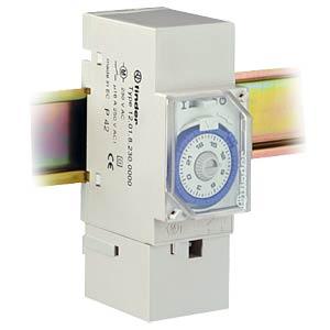 Zeitschaltuhr auf 35-mm Schiene, 1xUM, analog FINDER 12.01.8.230.0000