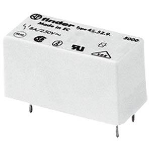 Steck-/Printrelais, 1x UM, 250V/12A, 24V FINDER 41.31.9.024.0010