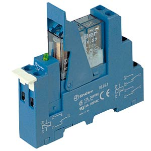 Coupling relay, 2 changer, 8 A, 230 VAC FINDER 49.72.8.230.0060
