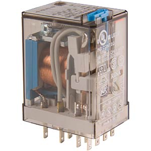 Industrial relay, 4xUM, 250 V/5 A, 24 VAC FINDER 55.34.8.024.0040