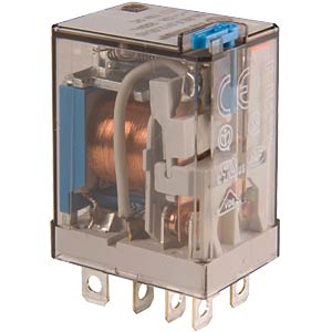 Industrial relay, 2xUM, 250 V/12 A, 230 V FINDER 56.32.8.230.0040