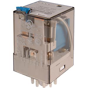 Industrierelais, 3x UM, 250V/10A, 24V FINDER 60.13.9.024.0040