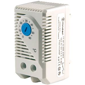 Temperature and humidity monitor, 1 closed contact FINDER 7T.91.0.000.2303