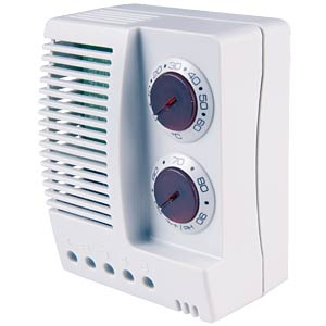 Temperature and humidity monitor, 1 changer FINDER 7T.91.8.230.4050
