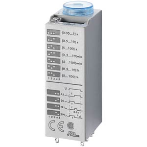 Plug-in time lag relay, 2 changers, 10 A/240 V FINDER 85.02.8.240.0000