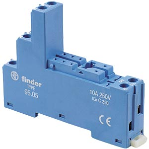 Relay base for relay Fin 40.. FINDER 95.05