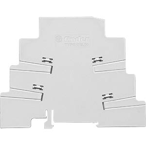 Insulating plate for series 93 and series 39 FINDER 09360