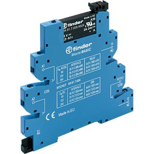 Coupling relay, 1 closed contact, 2 A, 24 VDC/24 VDC FINDER 391070249024