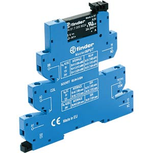 Coupling relay, 1 closed contact, 2 A, 230 VAC/24 VAC/DC FINDER 394000248240