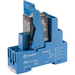 Coupling relay, 4 changer, 7 A, 24VDC FINDER 59.34.9.024.0050