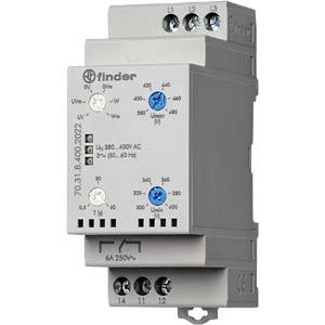 Netzüberwachung 3-Phasen für 380-415 VAC FINDER 703184002022