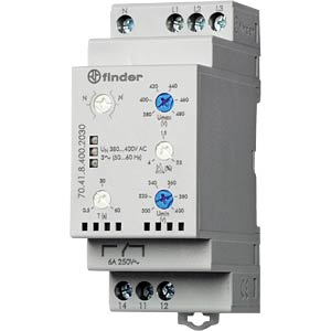 Grid monitoring 3-phase for 380 - 415 VAC FINDER 704184002030