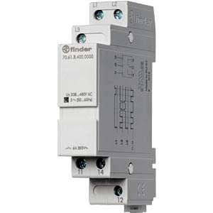 Grid monitoring 3-phase for 400 VAC FINDER 706184000000