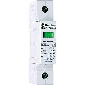 SPD Typ 2, für Netzsysteme L-N und L-PEN FINDER 7P2182751020
