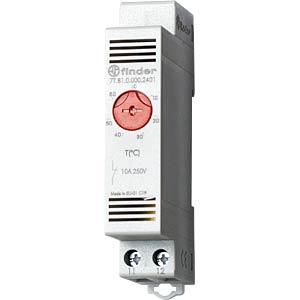 Thermostat, 1 Öffner, 10 A, von -20 bis +40°C FINDER 7T8100002401