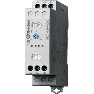 Time lag relay, multi, 1 changer, 16 A, 24 - 240 VAC/DC FINDER 830102400000