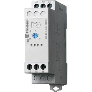 Off-Delay-Relais, 1 Wechsler,16A, 24-240VAC/DC FINDER 834102400000