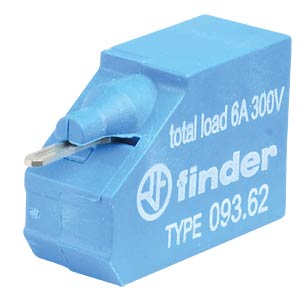 Double terminal, push-in FINDER 09362