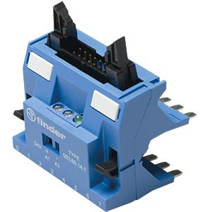 Master adapter, connects up to 8 coupling relays FINDER 093.68.141