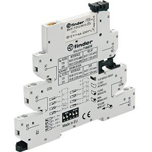 Koppelrelais, 1 Wechsler, EMR 6 A, 24 V AC/DC FINDER 39.81.0.024.0060