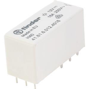 Printrelais - bistabil, 1 Wechsler, 12 V DC FINDER 416160124016
