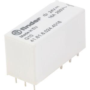 Printrelais - bistabil, 1 Wechsler, 24 V DC FINDER 416160244016