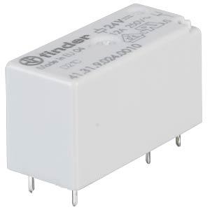 Plug-in/PCB relay, 1x UM, 250V/12A, 24V FINDER 41.31.9.024.0010